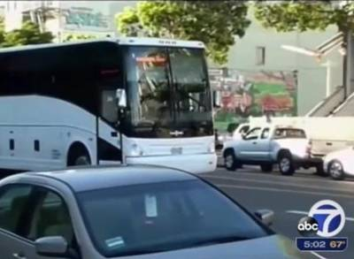 News video: Facebook Bus Drivers Unionize, Aiming for Better Pay